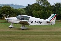 G-BNFV @ EGKH - Robin DR400 at Headcorn , Kent , UK