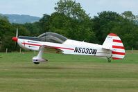 N503DW @ EGKH - Cap 10B at Headcorn , Kent , UK