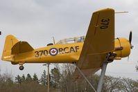 20370 @ CYQF - Canada - Air Force Canadian Car and Foundry Harvard IV - by Andy Graf-VAP