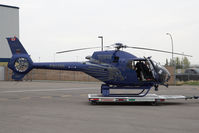 C-FCPS @ CYYC - Calgary Police Service Eurocopter 120 - by Andy Graf-VAP