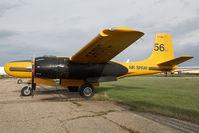 C-FOVC @ CYQF - Air Spray Douglas A-86 - by Andy Graf-VAP
