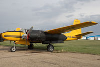 C-FPGF @ CYQF - Air Spray Douglas A-26 - by Andy Graf-VAP