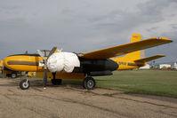 C-FZTC @ CYQF - Air Spray Douglas A-26 - by Andy Graf-VAP