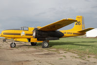 C-GPTW @ CYQF - Air Spray Douglas A-26 - by Andy Graf-VAP