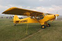 N139RC @ OSH - PA-18 REPLICA, c/n: TC0804047 - by Timothy Aanerud