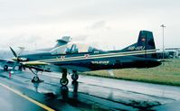HB-HPJ @ EGLF - Pilatus PC-9(M) at Farnborough International 1998