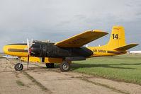 C-GTOX @ CYQF - Air Spray Douglas A-26 - by Andy Graf-VAP