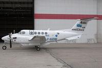 C-GXHD @ CYYC - Air Ambulance Alberta B200 - by Andy Graf-VAP