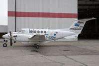C-GXHG @ CYYC - Air Ambulance Alberta B200 - by Andy Graf-VAP