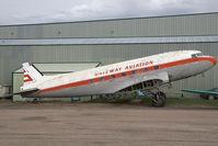 CF-JWP @ CYQF - Gateway Aviation DC-3 - by Andy Graf-VAP