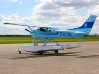 G-ESSL @ EGTH - G-ESSL at Duxford Airport - by Eric.Fishwick