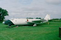 WH657 - English Electric Canberra B2 awaiting restoration at the Brenzett Museum