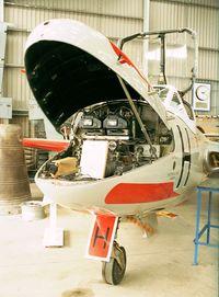 XJ772 - DeHavilland D.H.115 Vampire T11 at the DeHavilland Heritage Centre, London-Colney