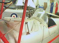 G-ANRX - DeHavilland D.H.82A Tiger Moth converted to crop sprayer at the DeHavilland Heritage Centre, London-Colney