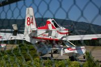 C-FDHN @ CZAM - Air Tractor rigged for fighting forest fires by Conair of BC - by David N Docherty