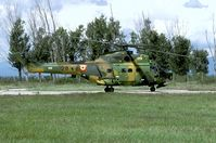 28 @ LBPG - During the 2005 edition of the exercise Co-operative Key there were five IAR-330 SOCAT's participating. I like their colorful camouflage. - by Joop de Groot