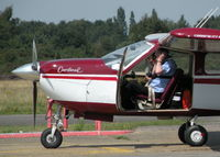 G-BBHI @ EGLK - GETTING SETTLED BEFORE START UP - by BIKE PILOT