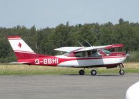 G-BBHI @ EGLK - TAXYING TOWARDS RWY 25 - by BIKE PILOT