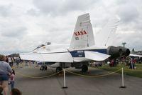 N852NA @ DAY - NASA FA-18