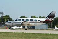 N126DR @ KOSH - Piper PA-31-350 - by Mark Pasqualino