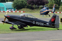 G-RVDX @ EGSX - RV-4 at 2009 North Weald RV Fly-in