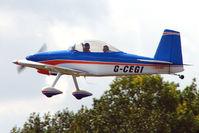 G-CEGI @ EGSX - RV-8 at 2009 North Weald RV Fly-in