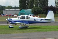 G-RVIO @ EGSX - RV-10 at 2009 North Weald RV Fly-in