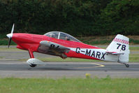 G-MARX @ EGSX - RV-4 at 2009 North Weald RV Fly-in