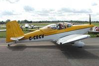 G-CECV @ EGSX - RV-7 at 2009 North Weald RV Fly-in