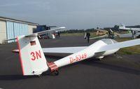 D-5349 @ EDKB - Schleicher ASK-21 3N at the Bonn-Hangelar centennial jubilee airshow - by Ingo Warnecke