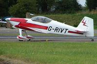 G-RIVT @ EGSX - RV-6 at 2009 North Weald RV Fly-in