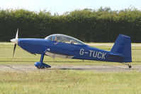 G-TUCK @ EGSX - RV-8 at 2009 North Weald RV Fly-in