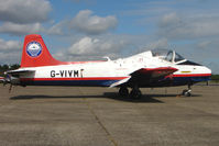 G-VIVM @ EGSX - Jet Provost at North Weald - ex XS230