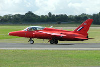 G-TIMM @ EGSX - Folland Gnat at North Weald wears Serial XS111