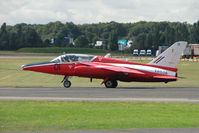 G-RORI @ EGSX - Folland Gnat at North Weald wears Serial XR538