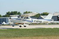 C-GFVQ @ KOSH - Cessna 172K - by Mark Pasqualino