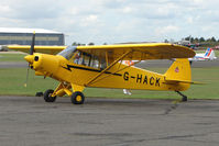 G-HACK @ EGSX - Piper PA-18-150 at North Weald