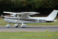 G-BOYP @ EGSX - Cessna 172 at North Weald