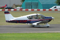 G-KENW @ EGSX - Robin DR400 visiting North Weald