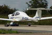 G-CCKI @ EGSX - Diamondstar at North Weald