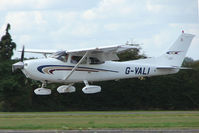 G-VALI @ EGSX - Cessna 182 at North Weald