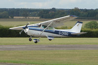 G-DRBG @ EGSX - Cessna 172 at North Weald