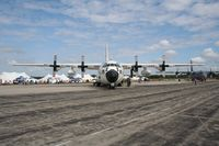 1500 @ YIP - HC-130H from Clearwater - by Florida Metal
