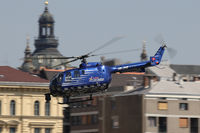 HB-ZHS - Red Bull Air Race Budapest 2009 - Eurocopter BO105CBS-4 - by Juergen Postl