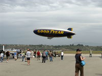 N10A @ CMA - 1979 Goodyear GZ-20A BLIMP 'Spirit of America' over 'Wings Over Camarillo' 29th Annual Air Show - by Doug Robertson