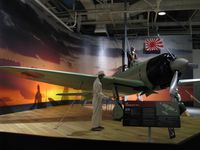 B11-120 @ NPS - A Mitsubishi A6M2 Zero on display at the Pacific Aviation Museum - by Kreg Anderson