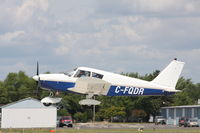 C-FQDR @ KOSH - Piper PA-28-140 - by Mark Pasqualino