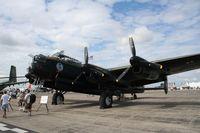 C-GVRA @ YIP - Lancaster Mk X