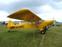 N139RC @ KOSH - PA-18 Replica - by Mark Pasqualino