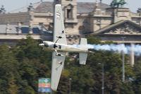 N19ZE - Red Bull Air Race Budapest 2009 - Yoshihide Muroya - by Juergen Postl